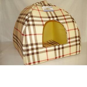 Фотография товара Домик для собак Бобровый дворик, размер 2, размер 42х42х38см., цвета в ассортименте
