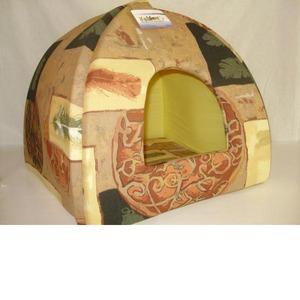 Фотография товара Домик для собак Бобровый дворик, размер 1, размер 39х39х35см., цвета в ассортименте