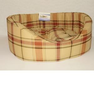 Фотография товара Лежак для собак Бобровый дворик, размер 4, размер 64х49х20см., цвета в ассортименте