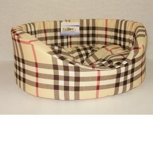 Фотография товара Лежак для собак Бобровый дворик, размер 71х53х20см., цвета в ассортименте