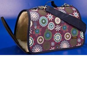 Теплая сумка-переноска для собак и кошек Dogman 3M, цвета в ассортименте, размер 44х27х27см.