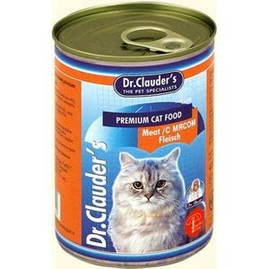 Фотография товара Корм для кошек Dr. Clauder's, 415 г, мясо