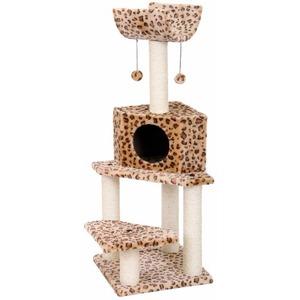 Фотография товара Домик-когтеточка для кошек Fauna International Bella, 10.3 кг, размер 40х40х113см.