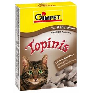 Фотография товара Витамины для кошек GimCat Topinis, кролик и таурин