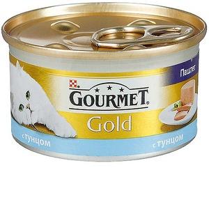 Фотография товара Корм для кошек Gourmet Gold, 85 г, Тунец