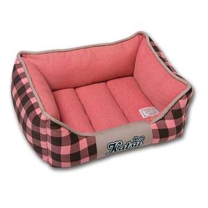Фотография товара Лежанка для собак Katsu, размер 55х45х23см., розовый