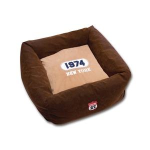 Фотография товара Лежак для собак Katsu New-York, размер 50х50х23см., шоколадный