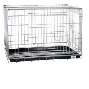 Фотография товара Клетка для собак Kredo CROME, размер 108х69х78см.