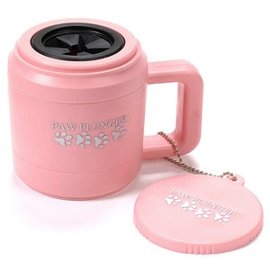 Фотография товара Маленькая лапомойка для собак Paw Plunger, розовая