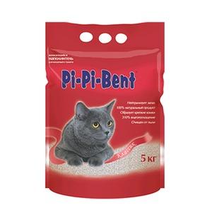 Фотография товара Наполнитель для кошачьего туалета Pi-Pi Bent Classic, 5 кг