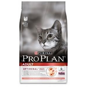 Фотография товара Корм для кошек Pro Plan Adult, 3 кг, лосось