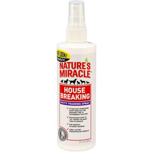 Спрей для приучения к туалету 8 in 1 Natures Miracle House Breaking, 304 г