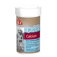 Фотография товара Витамины для собак 8 in 1 EU Excel Calcium S