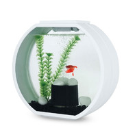 Фотография товара Аквариум для рыб AA-Aquarium Deco O Mini, размер 33.5х13.6х31см., белый
