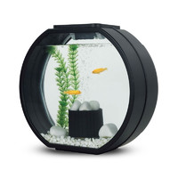 Фотография товара Аквариум для рыб AA-Aquarium Deco O Mini, размер 33.5х13.6х31см., черный