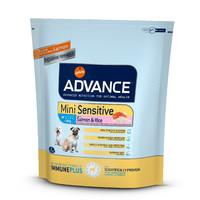 Фотография товара Корм для собак Advance Mini Sensitive, 800 г, лосось с рисом