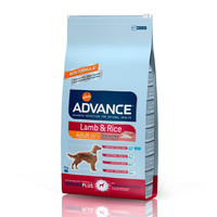 Фотография товара Корм для собак Advance Lamb & Rice, 12 кг, ягненок с рисом