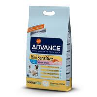 Фотография товара Корм для собак Advance Mini Sensitive, 3 кг, лосось с рисом