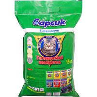 Фотография товара Наполнитель для кошачьего туалета Барсик Стандарт, 10 кг