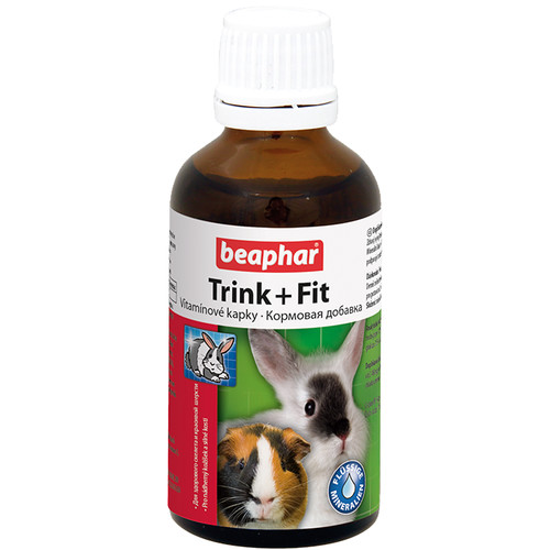 Витамины для грызунов Beaphar Trink + Fit