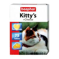 Фотография товара Витамины для кошек Beaphar Kitty's + Cheese, 75 таб.