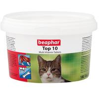 Фотография товара Витамины для кошек Beaphar Top 10, 180 таб.
