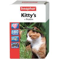 Фотография товара Витамины для кошек Beaphar Kitty's + Protein, 180 таб.