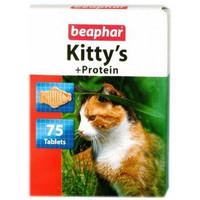 Фотография товара Витамины для кошек Beaphar Kitty's + Protein, 75 таб.
