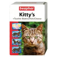Фотография товара Витамины для кошек Beaphar Kitty`s Mix, таурин, биотин, протеин, сыр, 180 шт.