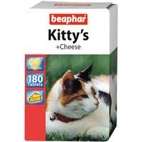 Фотография товара Витамины для кошек Beaphar Kitty's + Cheese, Сыр, 180 таб.