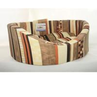 Фотография товара Лежак для собак Бобровый дворик, размер 3, размер 55х43х16см., цвета в ассортименте