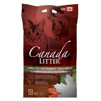 Фотография товара Наполнитель для кошачьего туалета Canada Litter Запах на замке (Лаванда), 18 кг