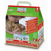 Наполнитель для кошачьего туалета Cat's Best Eco Plus,  2.1 кг, 5л.
