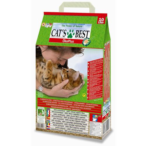 Наполнитель для кошачьего туалета Cat's Best Eco Plus, 4.3 кг