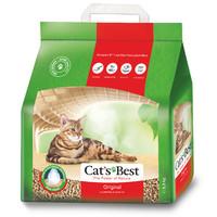 Фотография товара Наполнитель для кошачьего туалета Cat's Best Original, 2.1 кг
