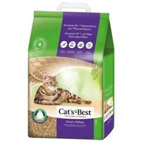 Фотография товара Древесный наполнитель премиум класса Cat's Best Smart Pellets, 10 кг
