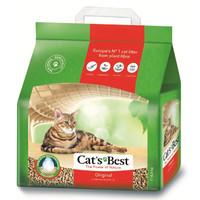 Фотография товара Наполнитель для кошачьего туалета Cat's Best Original, 4.3 кг