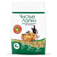 Фотография товара Наполнитель для грызунов Чистые Лапки, 1.7 кг