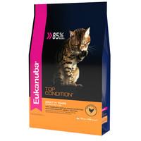 Фотография товара Корм для кошек Eukanuba Top Condition, 10 кг, курица, печень