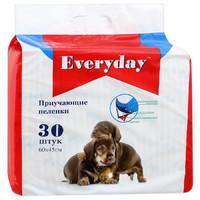 Фотография товара Приучающие пеленки для собак EveryDay, размер 60х45см., 30шт.