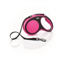Фотография товара Поводок-рулетка для собак Flexi New Comfort M, розовый