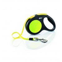 Фотография товара Поводок-рулетка для собак Flexi Neon Safety Plus XS