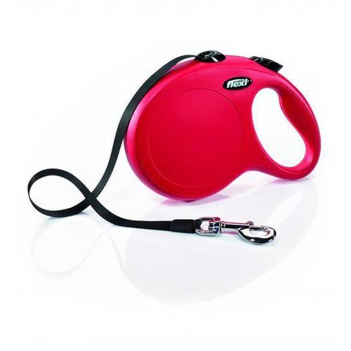 Поводок-рулетка для собак Flexi New Classic L, красный