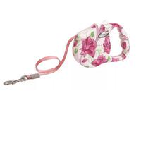 Фотография товара Поводок-рулетка для собак Freego Розовый цветок