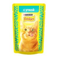 Фотография товара Корм для кошек Friskies, 85 г, утка