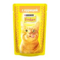 Фотография товара Корм для кошек Friskies, 85 г, курица