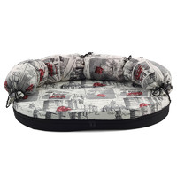 Фотография товара Лежак-диван для собак Гамма Размер 2, размер 2, размер 100х66х8см., цвета в ассортименте