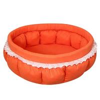 Лежанка для собак Гамма Гламур, цвета в ассортименте, размер 45х45х20см.