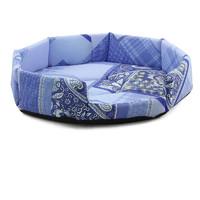 Лежанка для собак Гамма, цвета в ассортименте, размер 65х65х13см.