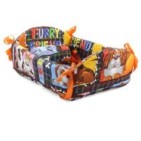 Фотография товара Лежак для собак Гамма Люлька, размер 41х33х12см., цвета в ассортименте
